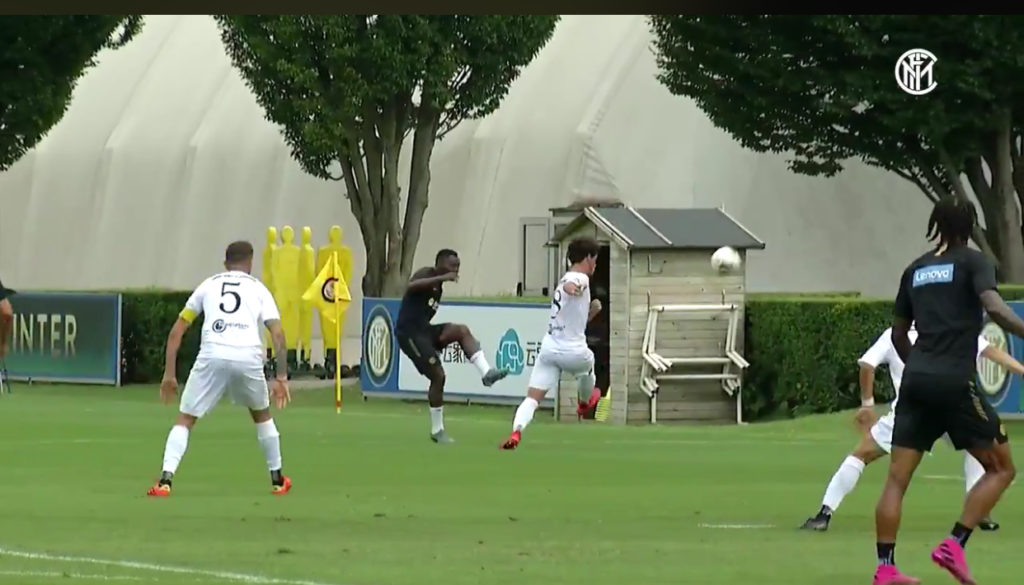 VIDEO: Kwadwo Asamoah provides two assists as Inter Milan thump Virtus Bergamo in pre-season game