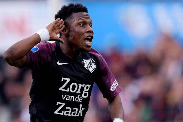 Ghanaian forward Abass Issah promises to score more goals for FC Utrecht