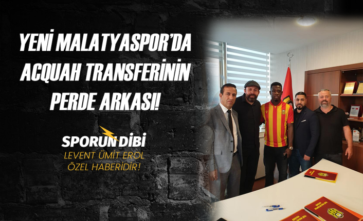 EXCLUSIVE: How Afriyie Aquah swerved Trabzonspor and Antalyspor to sign for Malatyaspor
