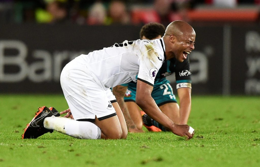 Swansea City fans react to Andre Ayew super sub performance in Carabao Cup win