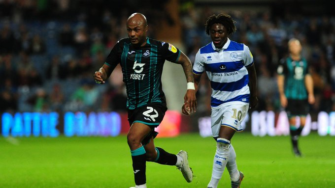 Swansea City fans want Andre Ayew to stay despite links to move away from the club