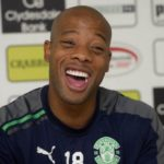 Junior Agogo was a 'larger than life character' -  Former Hibernian star Lewis Stevenson