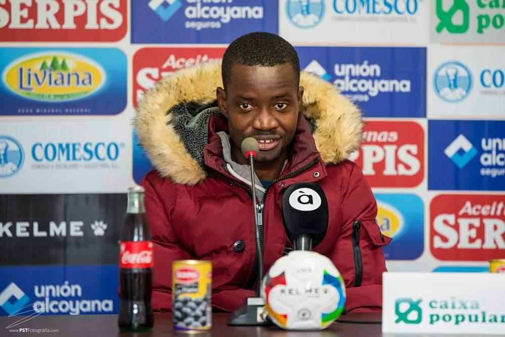 Michael Anaba's debut for AFC Eskilstuna against BK could be delayed by paperwork