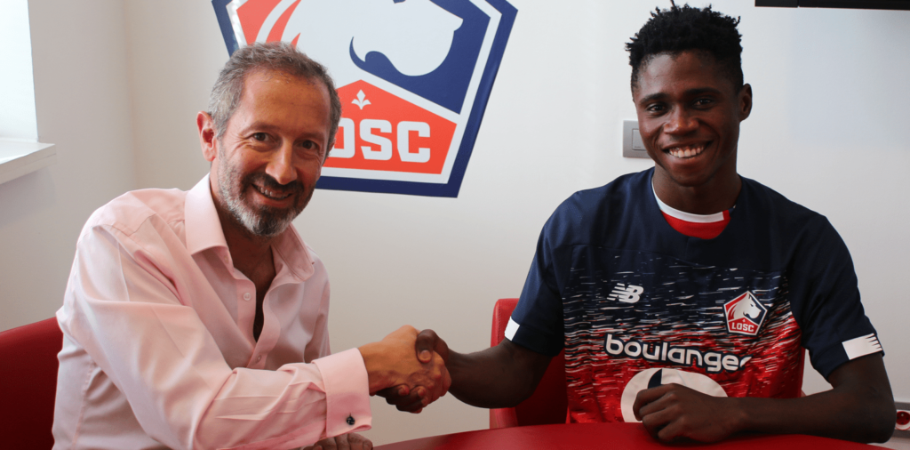 Video: Ghana U20 defender Nana Kwame Antwi joins French giants Lille