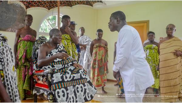 Manhyia explains why Kwame Kyei was retained as Asante Kotoko board chairman