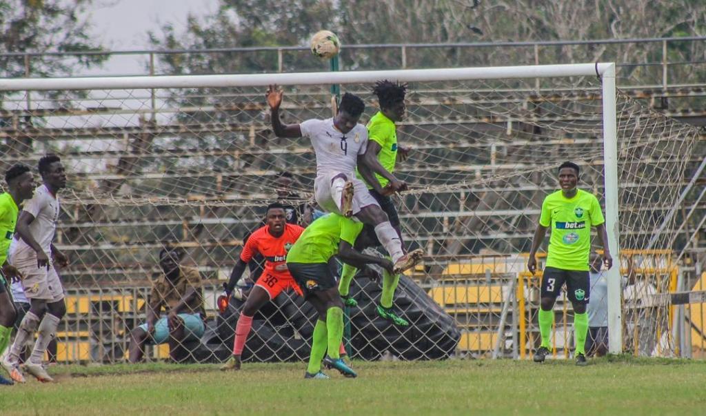 Black Meteors held by Dreams FC in friendly
