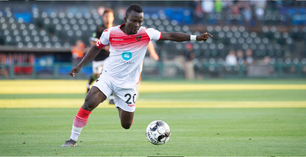VIDEO: Solomon Asante's classy late free-kick wins it for Phoenix Rising; named Man of the Match