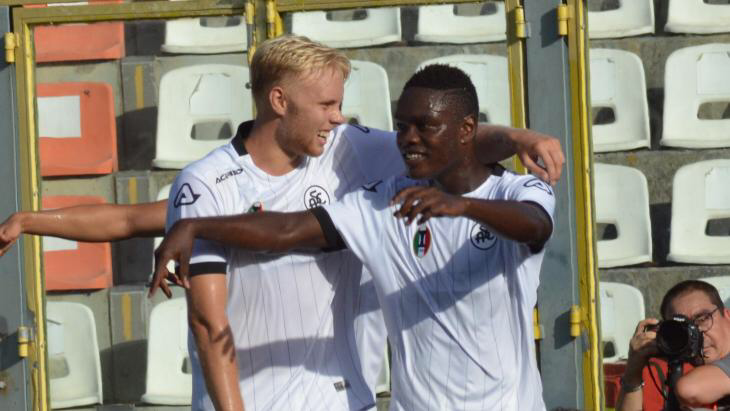 Emmanuel Gyasi delighted after opening goalscoring account for Spezia in new campaign