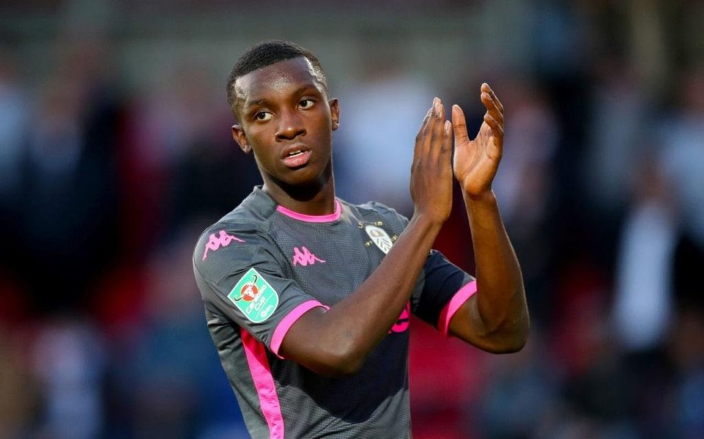 Debut-delight as Eddie Nketiah scores for Leeds United in Carabao Cup win