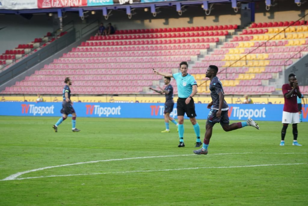 VIDEO: Watch Caleb Ekuban's spectacular finish in Trabzonspor's draw against Sparta Prague in Europa League