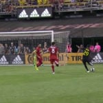 VIDEO: David Accam on target for Columbus Crew in draw with Toronto FC
