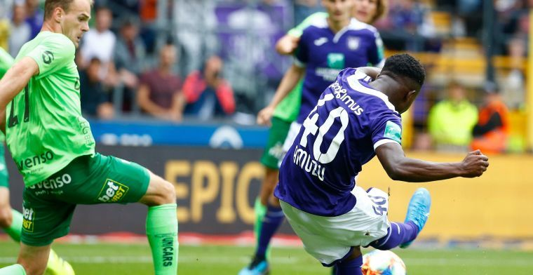 Francis Amuzu to lose starting place at Anderlecht following arrival of Nacer Chadli