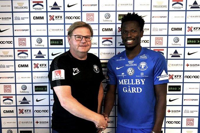 Trelleborgs FF manager Peter Swärdh praises signing of forward Fatawu Safiu