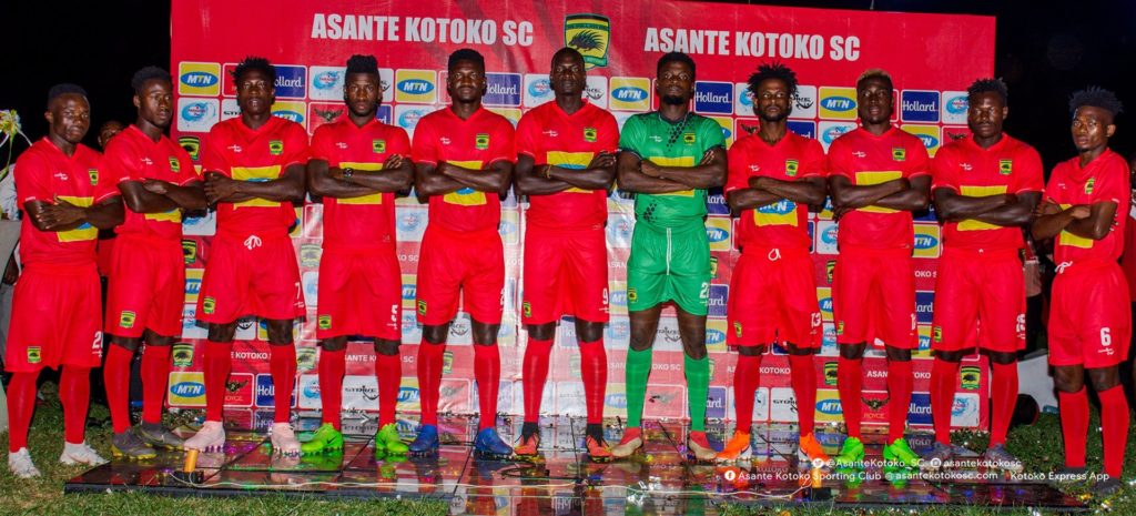 Asante Kotoko's 11 new signings model in STRIKE kits for 2019/20 season