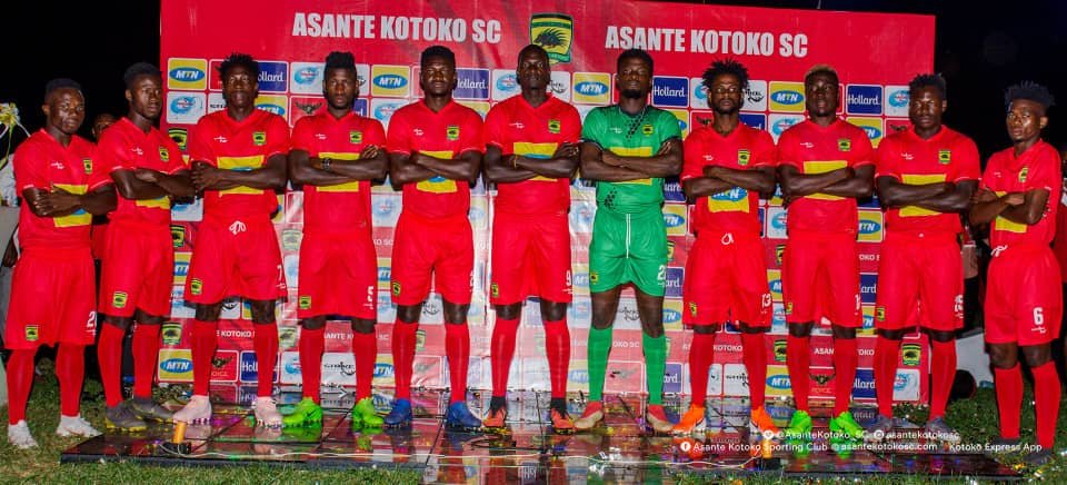 Asante Kotoko rakes in Ghc 130,000 after kits unveiling