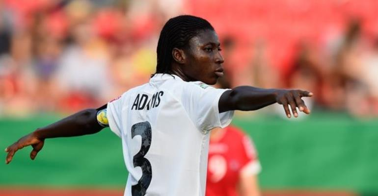 Grace Adams: Former Black Princesses skipper signs for Nigerian side Rivers Angels