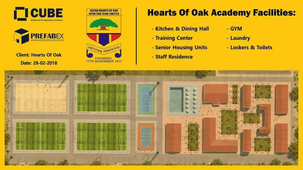 VIDEO: Hearts of Oak sign agreement with PrefabEx over Pobiman project