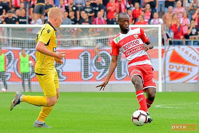 Ghanaian defender Joakim Adukor marks Hungarian league debut for Diósgyőr VTK with win over Budapest Honved