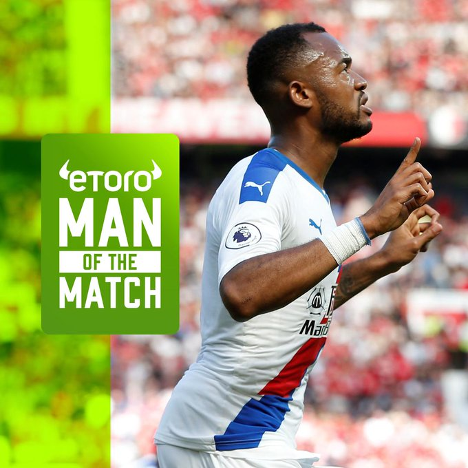 Jordan Ayew named MoTM as ten-man Crystal Palace stun AFC Bournemouth