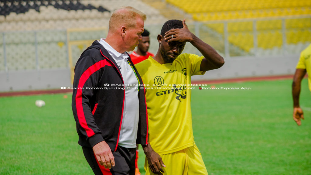 Kotoko midfielder Jordan Opoku urges teammates to support new captain Felix Annan to succeed