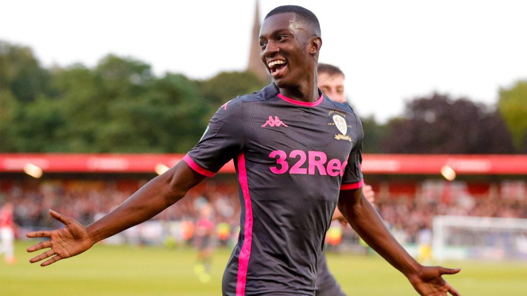 Eddie Nketiah dedicates Carabao Cup win to Leeds fans