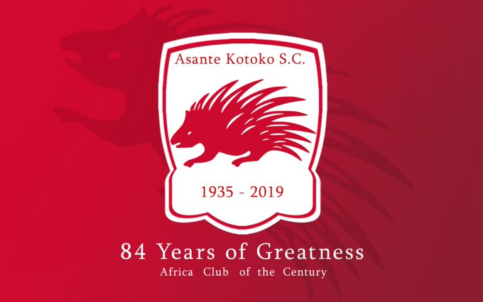 Asante Kotoko is 84 years today