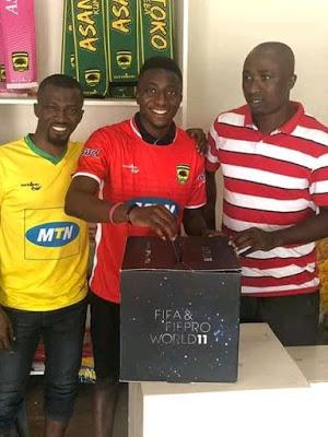 PHOTOS: Asante Kotoko players vote for FIFA FIFPro World XI