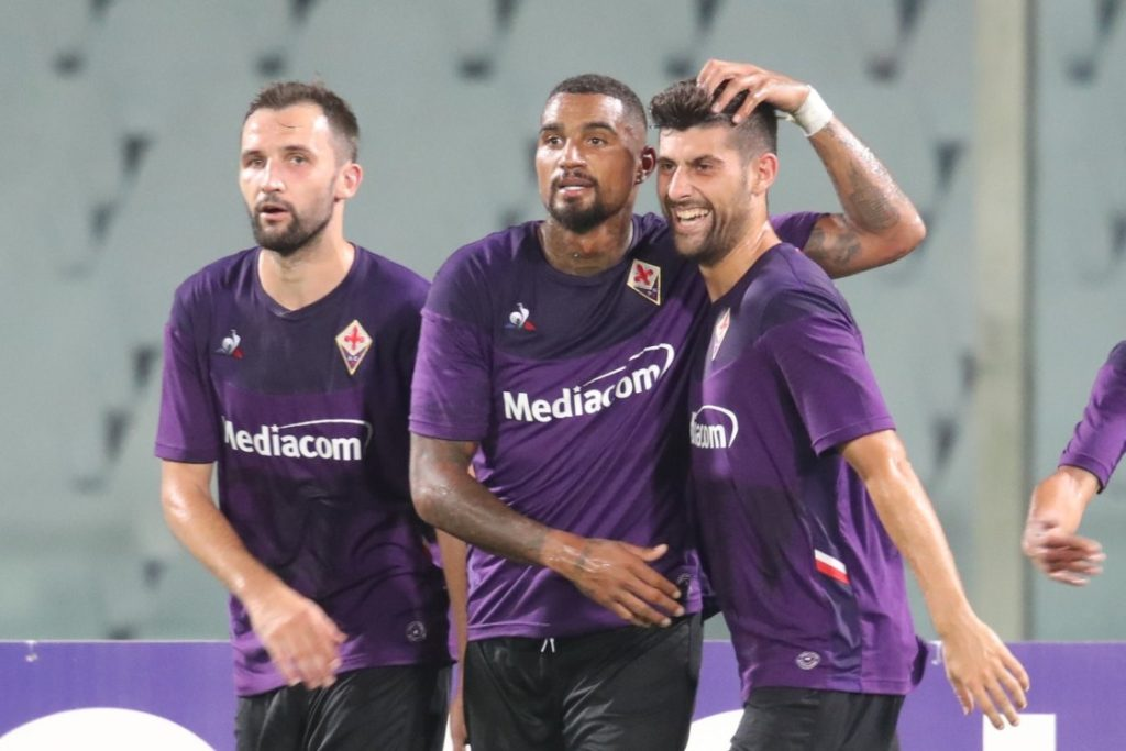 AC Fiorentina manager Vicenzo Montella to use K.P Boateng as a false nine