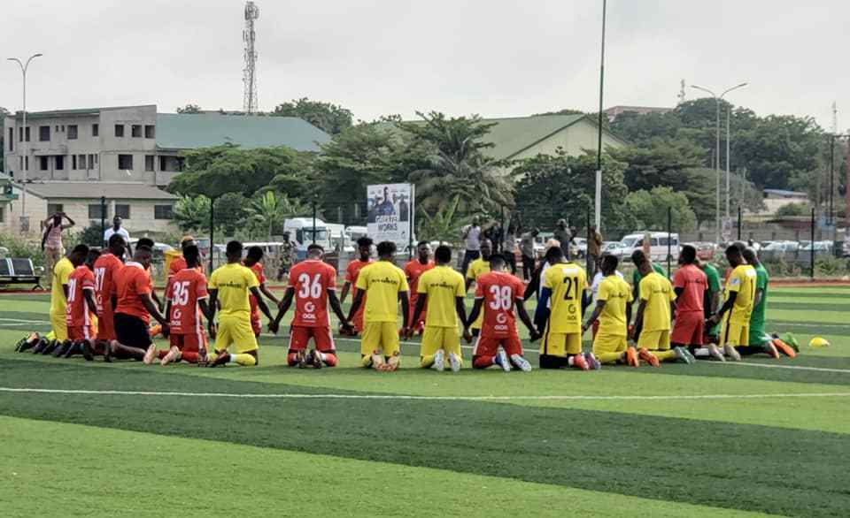 VIDEO: Asante Kotoko train in Accra ahead of Kano Pillars CAF Champions League clash
