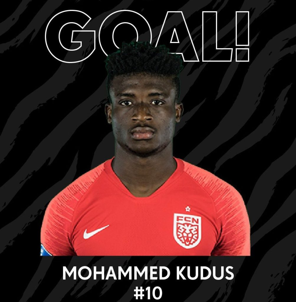 Latest Ghana News: Mohammed Kudus Scores In Second Straight Match To Spark
