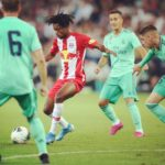 VIDEO: Majeed Ashimeru stars in Red Bull Salzburg's friendly defeat to Real Madrid