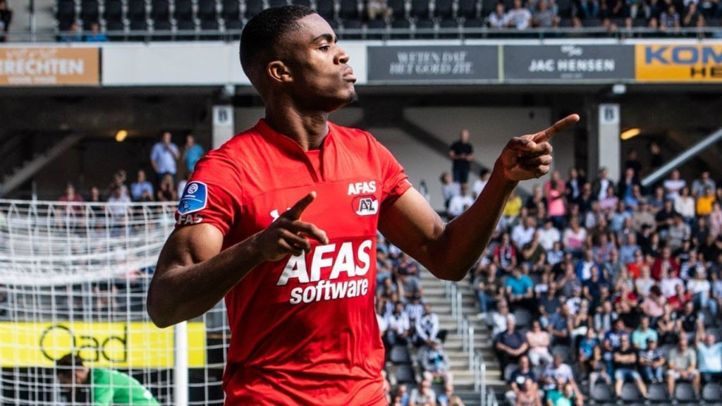 AZ Alkmaar youngster Myron Boadu could make Dutch national team debut soon