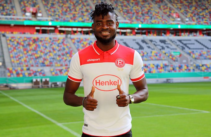 Kassim Nuhu nets first goal for Fortuna Dusseldorf in friendly win over TuRU Dusseldorf