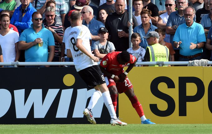 Fortuna Düsseldorf midfielder Nana Ampomah ruled out 'until further notice' after muscle tear