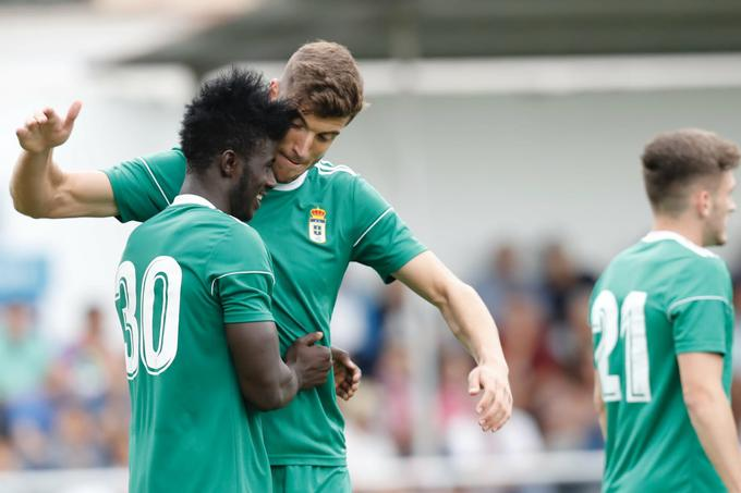 Ghanaian forward Samuel Obeng promoted to Real Oviedo first team
