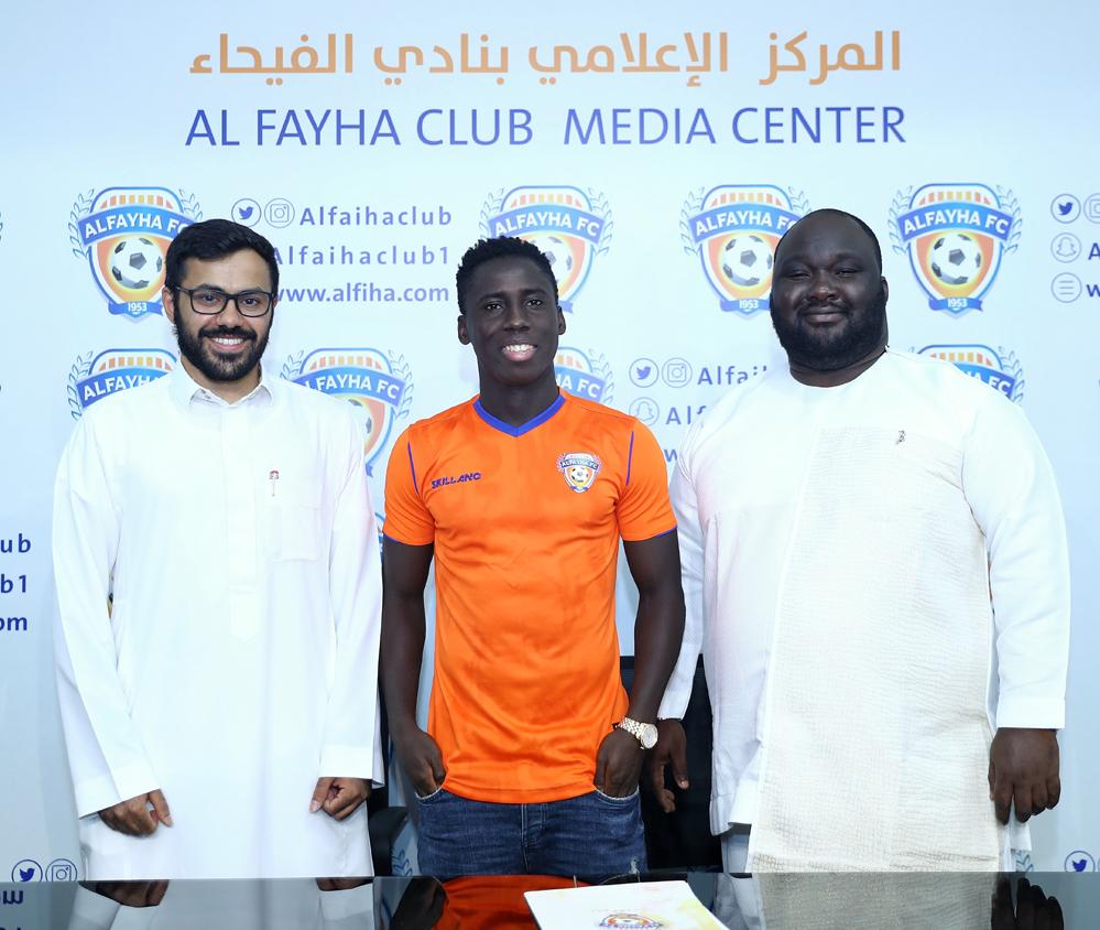 PHOTOS: Ghana winger Samuel Owusu seals mouth-watering move to Saudi side Al-Fayha FC