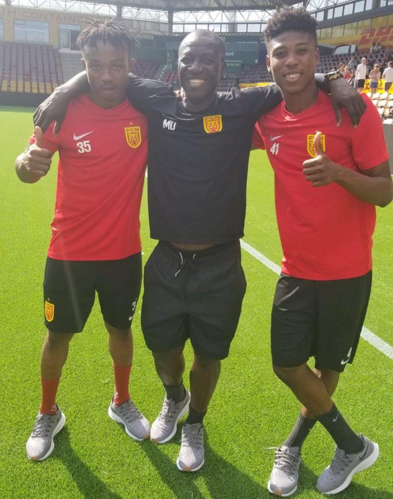 Mas-Ud Dramani thrilled with impact of Isaac Atanga and Francis Abu at Nordsjaelland