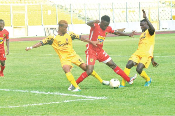 We are ready for Kotoko in the BK Edusei cup- Ashantigold defender Richard Osei Agyemang
