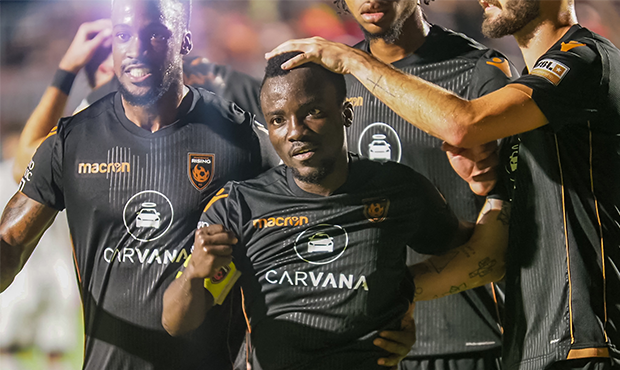 VIDEO: Solomon Asante hits brace for Phoenix Rising's record 14th consecutive USL win