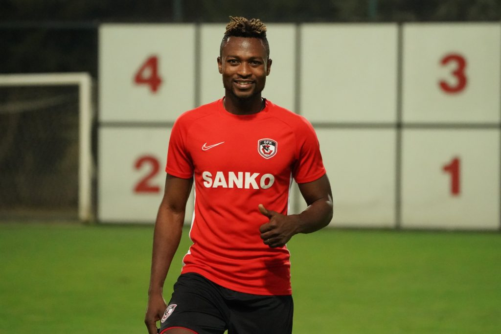 Patrick Twumasi trains with new club Gazi?ehir FK for first time