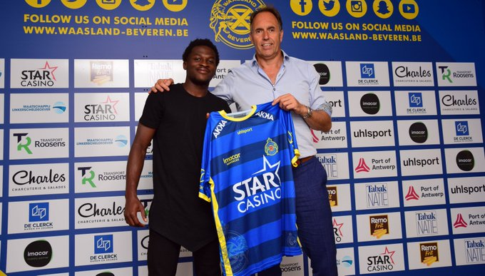 Thomas Agyepong in search for first win at new club Waasland-Beveren