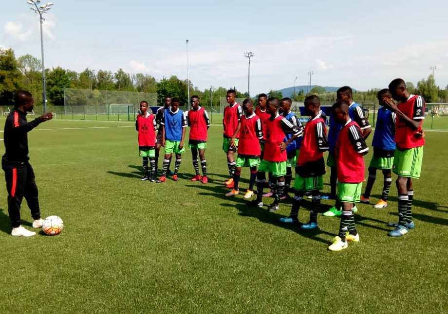 WAFA U16 train in Austria ahead of Next Generation Trophy defence