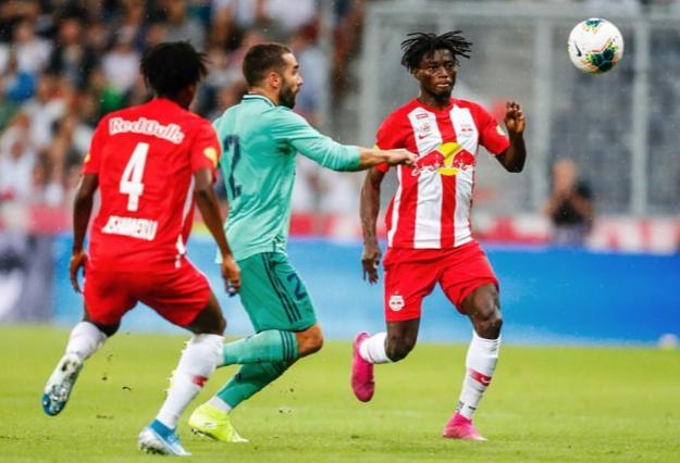 VIDEO: Watch Red Bull Salzburg's Gideon Mensah SHINE against Real Madrid in friendly