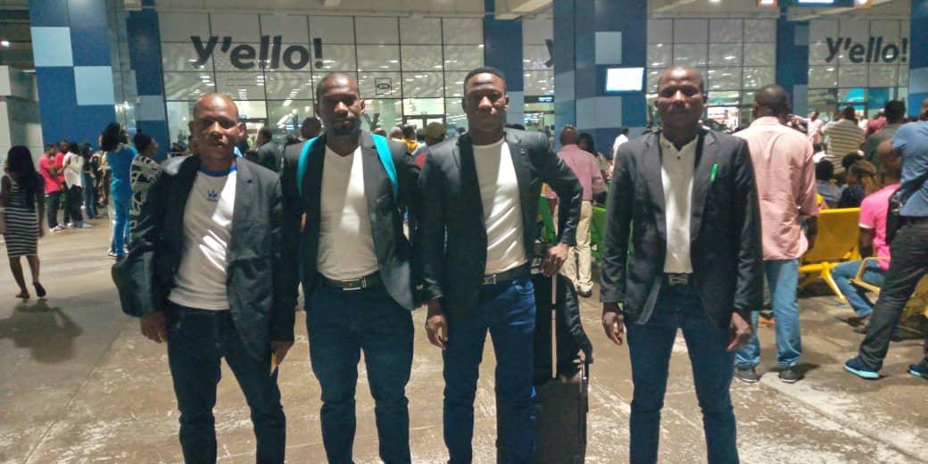 CAF Confederation Cup: Nigerien referees arrive for AshGold-Akonangui FC clash in Obuasi