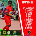 Striker George Abege AXED as Asante Kotoko coach rings three changes for Kano Pillars clash