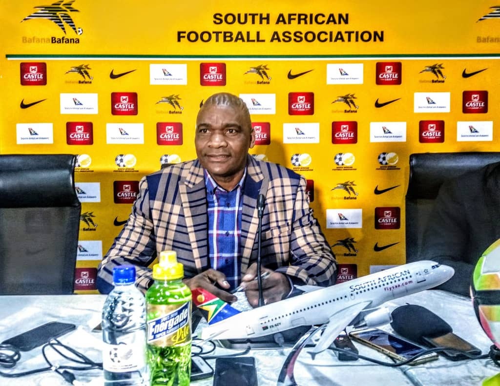 SAFA promotes assistant Molefi Ntseki as new Bafana Bafana head coach