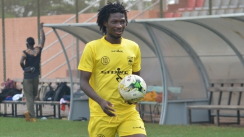 Asante Kotoko forward Sogne Yacouba ruled out of Kano Pillars clash