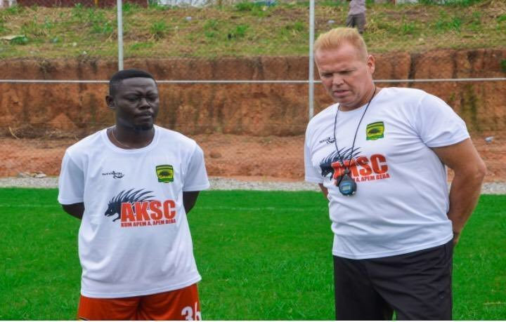 CAF Champions League: Kotoko coach Kjetil Zachariassen happy with players despite Kano Pillars defeat