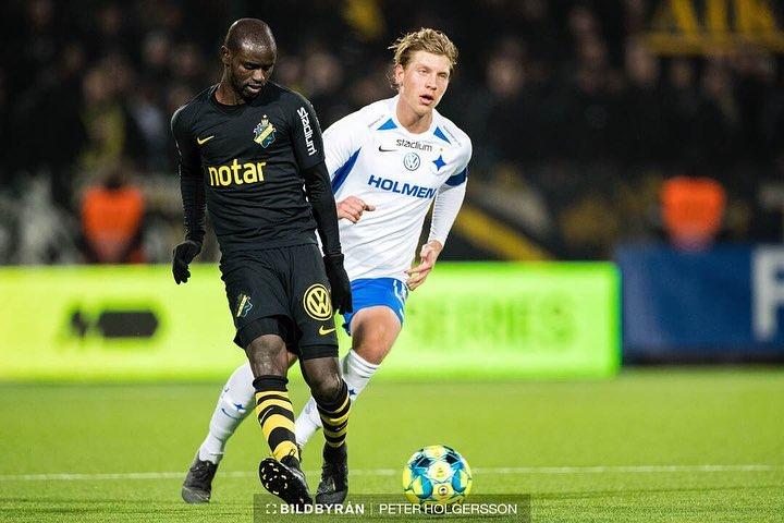VIDEO: Enock Adu Kofi registers assist in AIK's away win against Östersunds FK