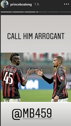 """Call him arrogant, crazy and overrated, he's an incredible human being""- Kevin Boateng eulogizes Balotelli on birthday"